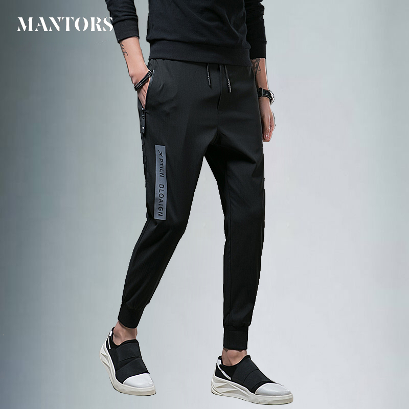 Mens Joggers Trousers Hip Hop pants Men Skinny Sweatpants 2018 Casual Black Men Gyms Pants Pantalon Hombre New Men Street Pants