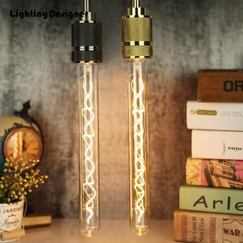 T300 T9 Bar Rohr Vintage Led Lampe Dimmbare Edison Birne E27 Weiche