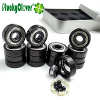16pc Abec11 7mm Bearing 627z Very Fast 6 Ceramic Ball Bearing Quad Skates Artistic Skates 7mm