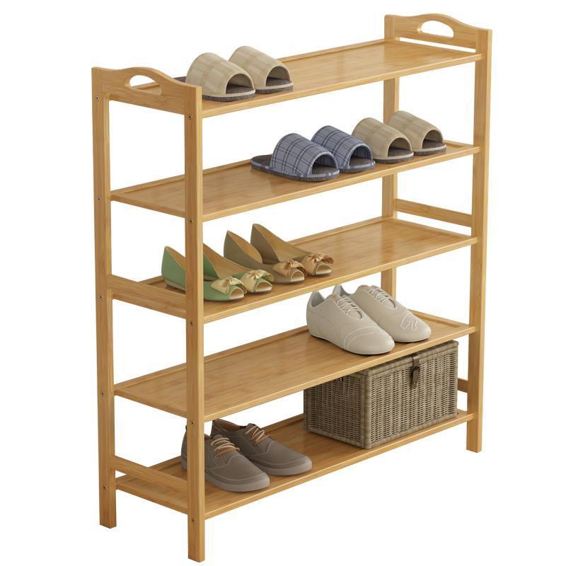 World simple rack dust storage shelves household shoe economy dormitory bedroom reinforcing steel double simple shoe storage rack assembly cheap thicker dust specials