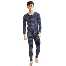 KWAN.Z thermal underwear long johns for men cotton thin men'