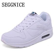 Plus Size Tenis Feminino Spring Summer White Shoes Women Fashion 2019 Flats Platform Casual Air Cushion Shoes Sapato Feminino стоимость