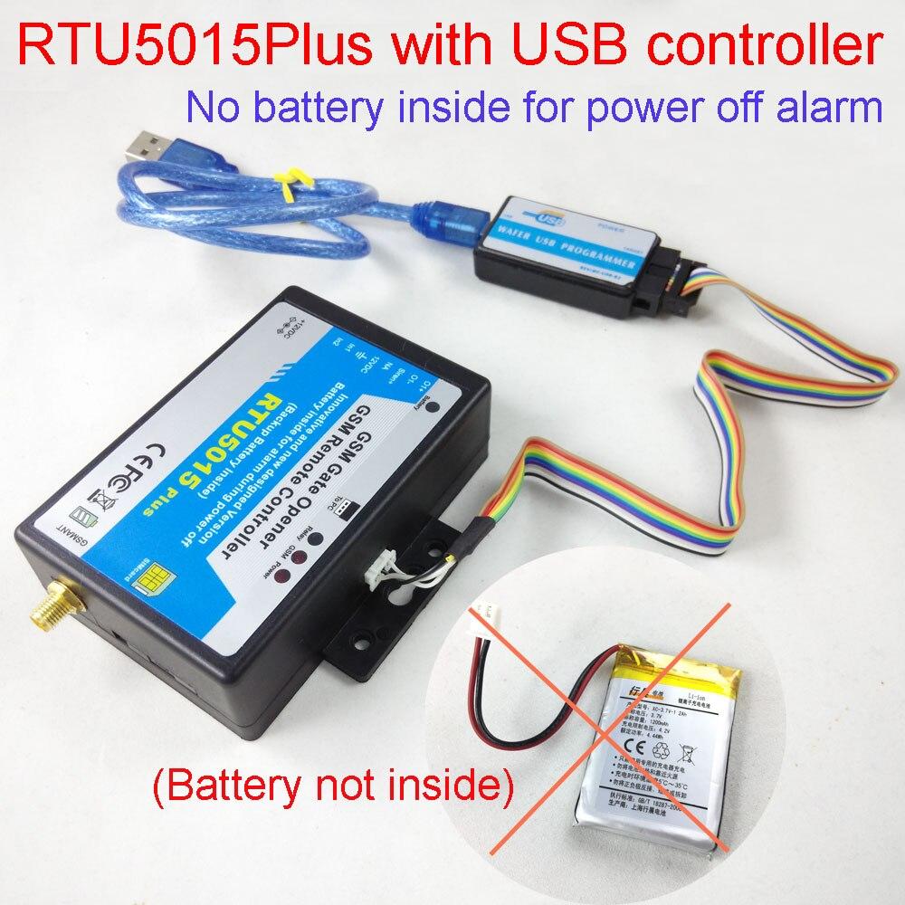 bilder für GSM Toröffner Relaisschalter Remote-zugriffskontrolle Drahtlose Türöffner RTU 5015 plus Optional batterie für die abschaltung alarm