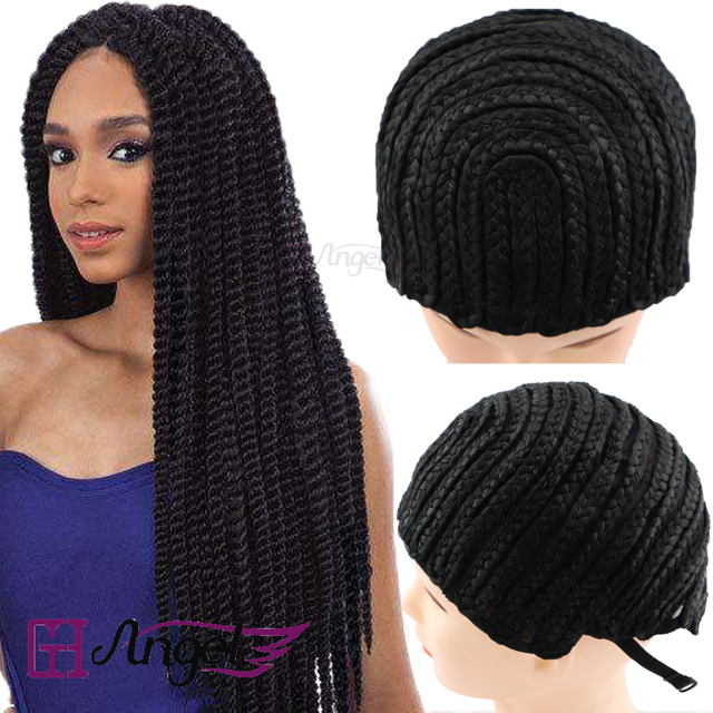 Gh Angel 1pc Cap Cornrow Wig For Making Braid Synthetic Wig
