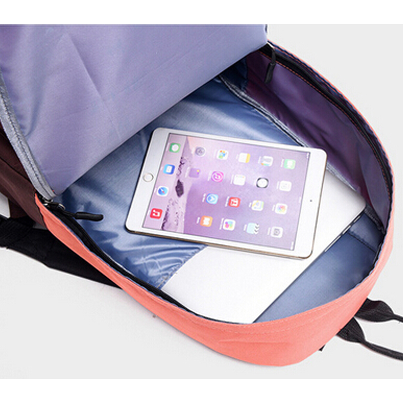 amantes bolsa de escola da Backpack Usage : Casual Daily Women Men School Bag Travel Backpacks
