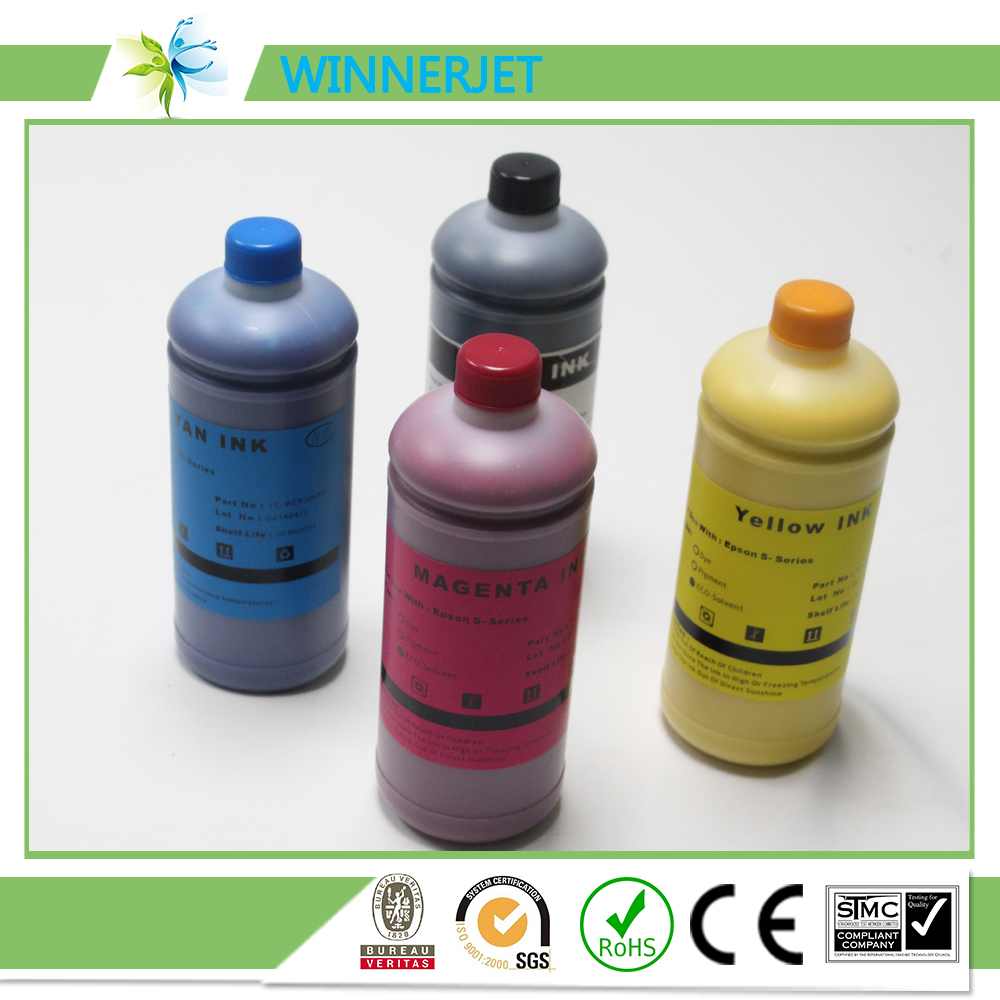 Best color printing quality - 1l 4 Color Eco Solvent Ink For Epson S30600 S30610 S30670 S30680 Good Printing Quality Ink For Epson Surecolor