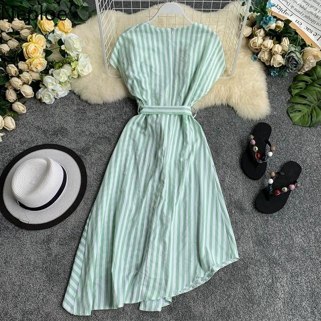 Striped Women Dress 5