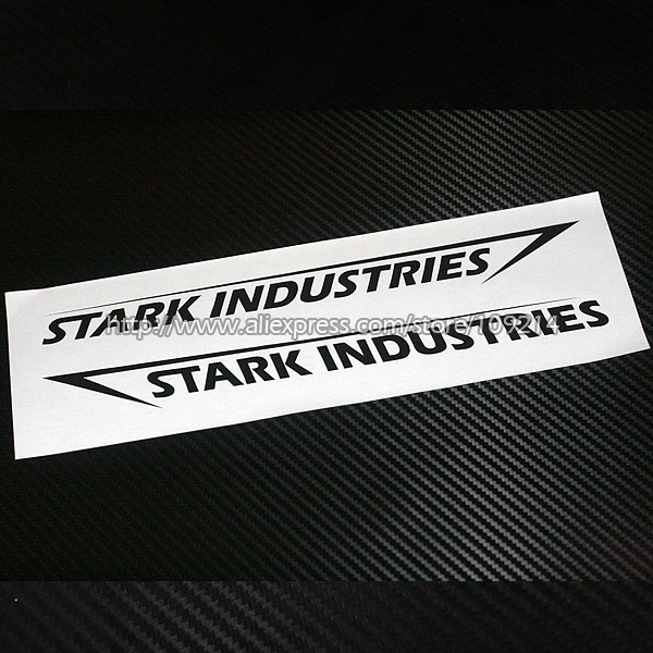 Hot sale iron man shield stark industries motorcycle auto suv decal reflective sticker reflective waterproof yyy06