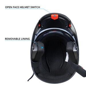 Image 4 - 2019 nuevo Casco de Moto de carreras Modular de doble lente Casco de Moto Flip Up cascos de cara completa Casco de Moto Capacete Casco