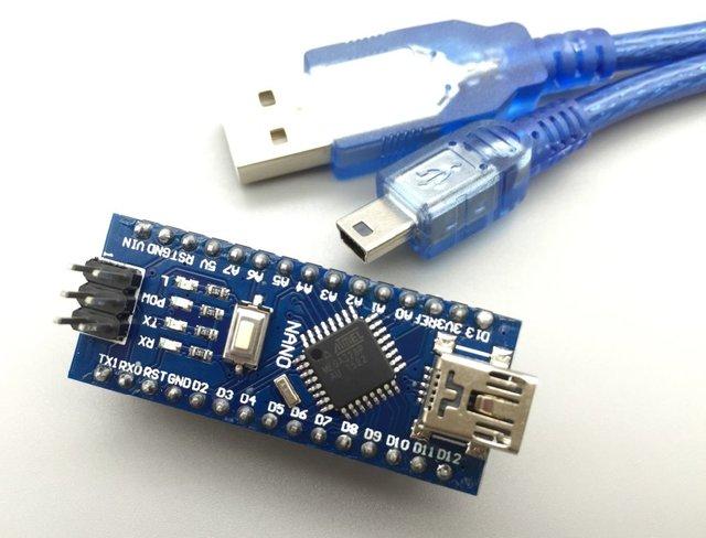 Nano V3.0 ATmega328P контроллер совместим для Arduino Nano CH340 usb драйвер с кабель Nano 3.0