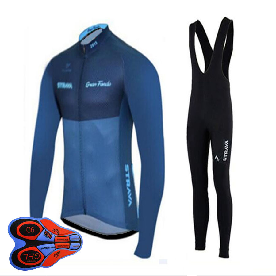 Cycling Jersey 2017 Pro Team l Long Sleeve Ropa Ciclismo Men