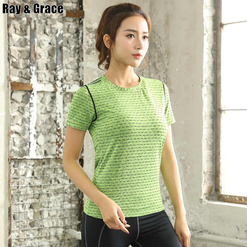 Lovers Quick Dry Sport Short Sleeves T Shirt Running Breathable Reflective Men Women Fitness Gym Tops Tees Workout T-shirts