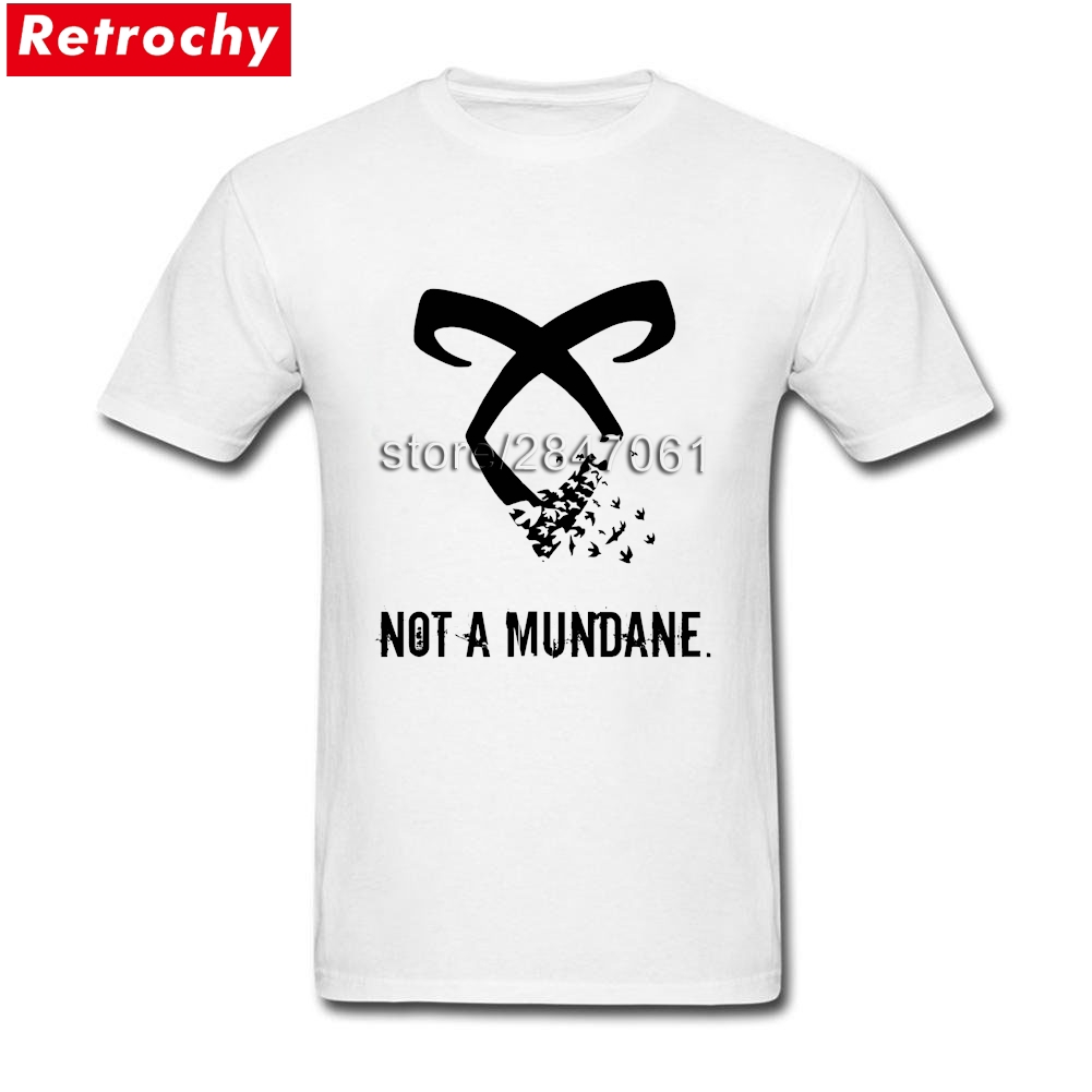2017 Branded Funny T-Shirts Shadowhunters for Men Best Fitting Short Sleeves Graphic Shirt Gift Guy Large and Tall Merchandise