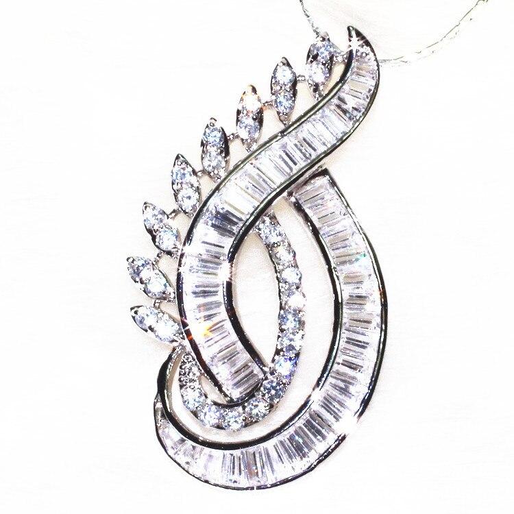 ALW Eye of elfes forme collier pour femmes pur fait à la main Long Druzy pendentif collier bijoux de mode 2016