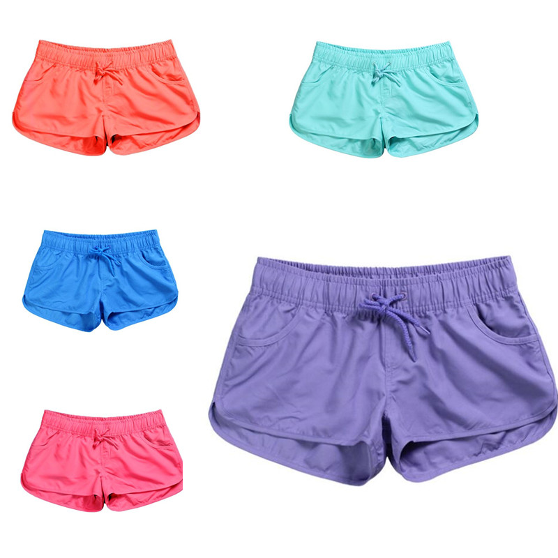 Board     Shorts   Surf Swimwear Beach   Short   Women Athletic Running Gym   Short   Quick Dry Swim   Shorts   Summer
