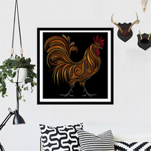 Diy Diamond Painting Decorative Painting Chickens In The Garden Mosaic Diamond Embroidery Square Drill Rooster Hen