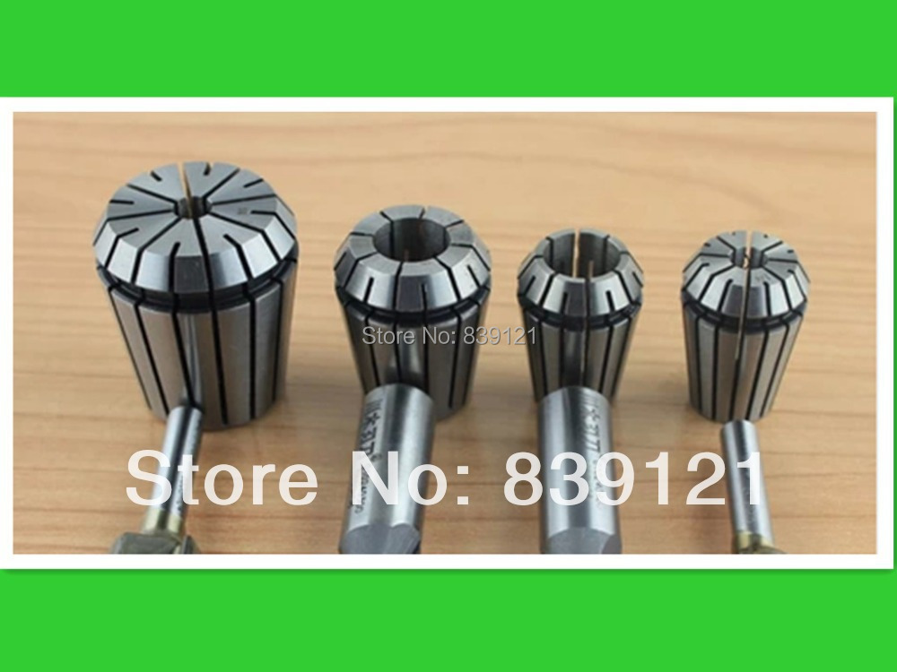 Hot sales free Shipping 15pcs er11 collet chuck set 1 mm to 7 mm for CNC milling lathe tool Engraving machine spindle motor fitsain er11 collet chuck cnc spindle collet set from 1 8 1 4 for cnc milling lather tool ball bearing 775 24v 8000rpm