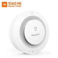 Original Xiaomi Mijia Honeywell Smart Fire Alarm Detector Photoelectric Smoke Sensor Remote Linkage Mihome APP Work With Gateway