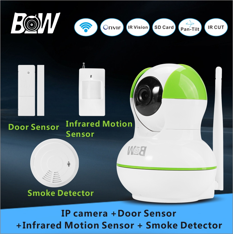 BW Surveillance font b Camera b font Baby Monitor Security IP font b Camera b font