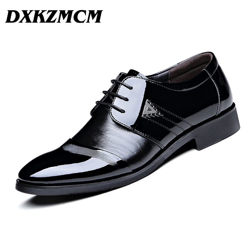 dxkzmcm genuine leather dress shoes lace up casual