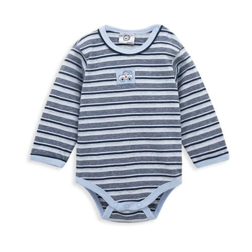 Kavkas/комплект одежды для малышей; зимние комбинезоны в полоску для мальчиков; брендовый комбинезон с длинными рукавами из хлопка; костюм для новорожденных; комбинезон для малышей - Цвет: HY2007