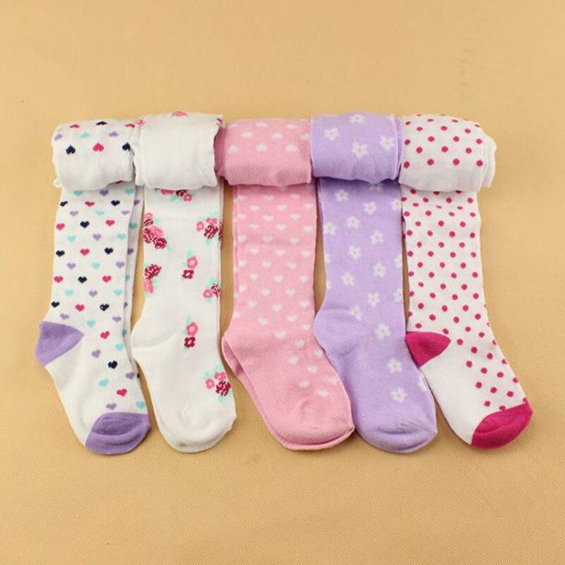 Baby Frühling/herbst Strumpfhosen Baumwolle Baby Mädchen Strumpfhosen Kid Infant Gestrickte Collant Strumpfhosen Weichen Säuglings Kleidung