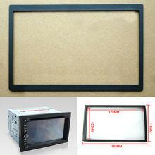 Автомобильная 2Din монтажная панель, монтажная рамка, металлическая рамка для стерео dvd-плеера 188*118 мм, автомобильная аудиорамка, украшение интерьера автомобиля