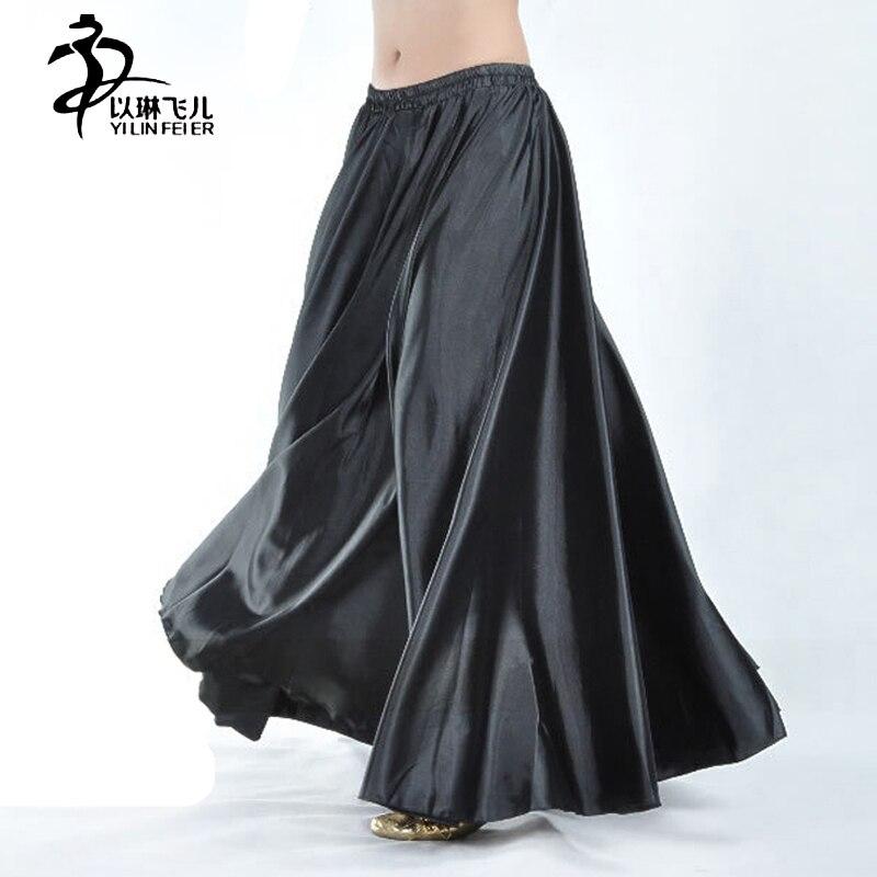 Alas de isis danza Skirt Bellydance Belly Dance Skirt Flamenco Dancing Costume 360 degrees skirts Chiffon