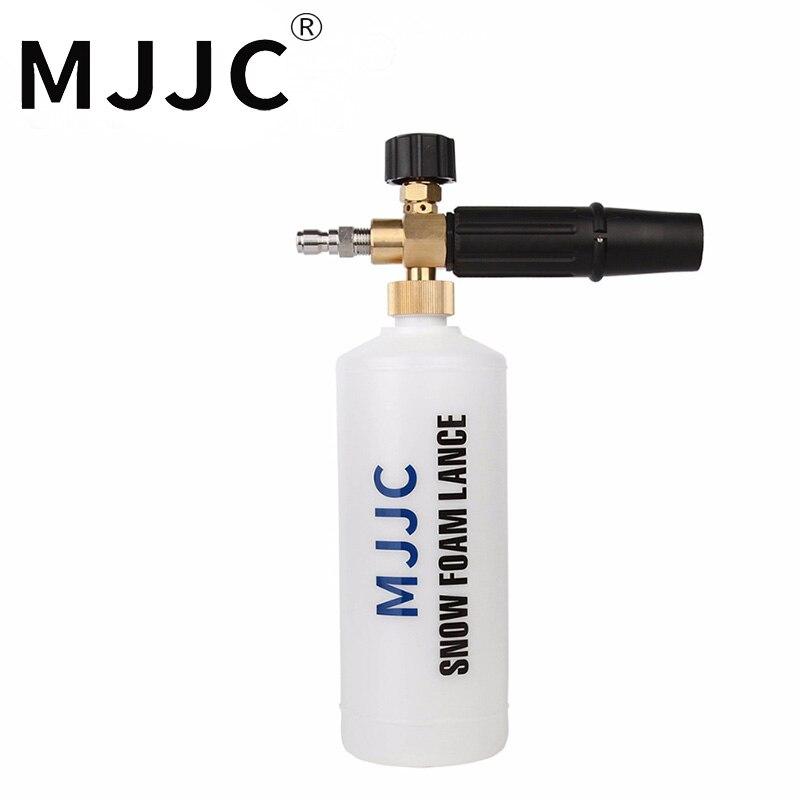 Arma De Espuma MJJC Marca 1/4 Quick Connect Lança De Espuma com um quarto de canhão de Espuma de montagem rápida conector de conexão rápida