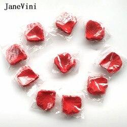 JaneVini Artificial Pétalas de Rosa 1000 pcs Petales Toss Falsas Pétalas de Seda Pétala Para O Casamento Da Menina de Flor De Rosa Decoração Do Partido