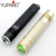 YUPARD CREE XM-L2   Waterproof CREE LED Flashlight Torch Free shipping super T6 LED for 18650 Rechargeable battery Outdoor Sport