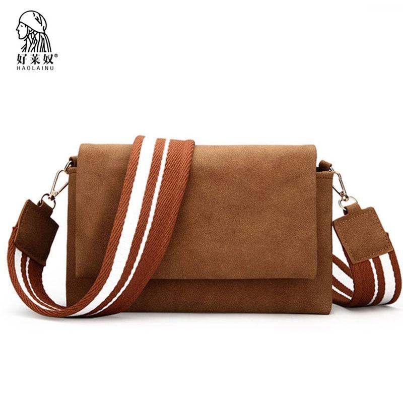 Fashion Women Messenger Bags Multicolor Wide Straps Female Shoulder Bag Scrub Leather Women Crossbody Bag Designer High Quality