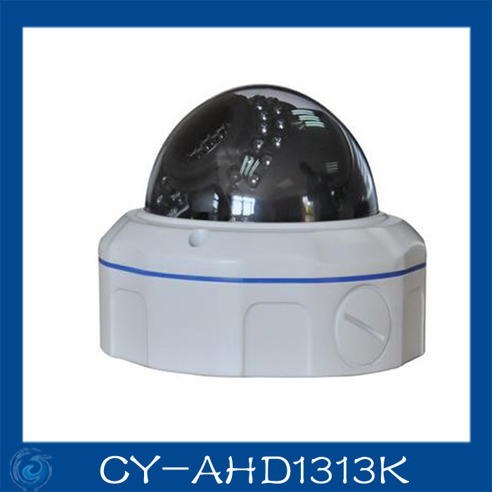 AHD camera 1.0MP metal dome cameras 2.8-12mm lens camera waterproof night vision IR cut filter 1/4 Surveillance home.CY-AHD1313K 4 in 1 ir high speed dome camera ahd tvi cvi cvbs 1080p output ir night vision 150m ptz dome camera with wiper