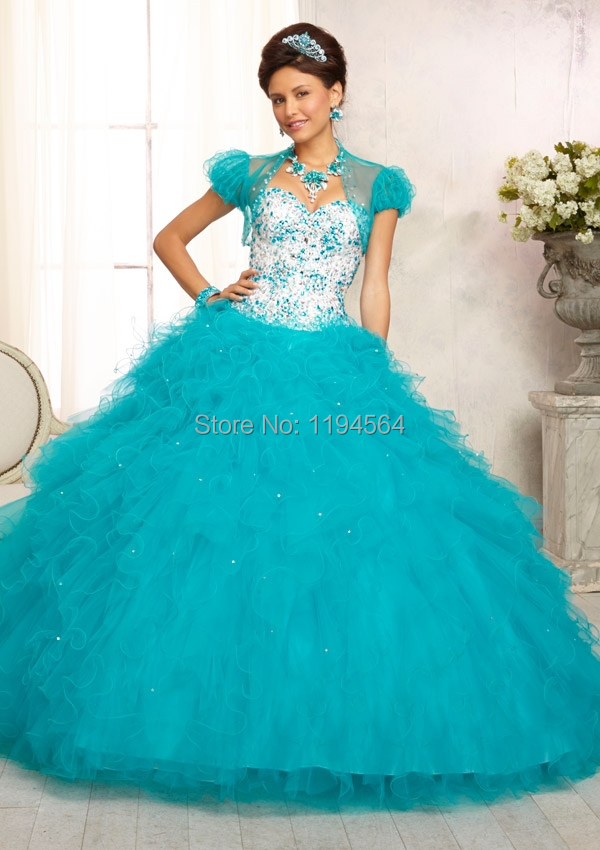 Popular Short Turquoise Sweet 16 Dresses-Buy Cheap Short Turquoise ...