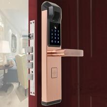 RAYKUBE 생체 인식 지문 전자 도어록 스마트 디지털 암호 잠금 장치 4 In 1 Keyless Entry R FZ3