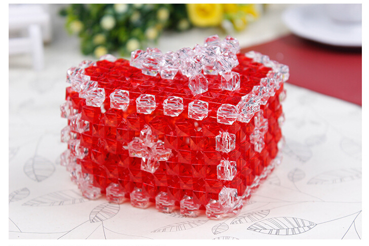 Christmas Gifts Sweet Heart Party Box Handmade DIY Kids Presents ...