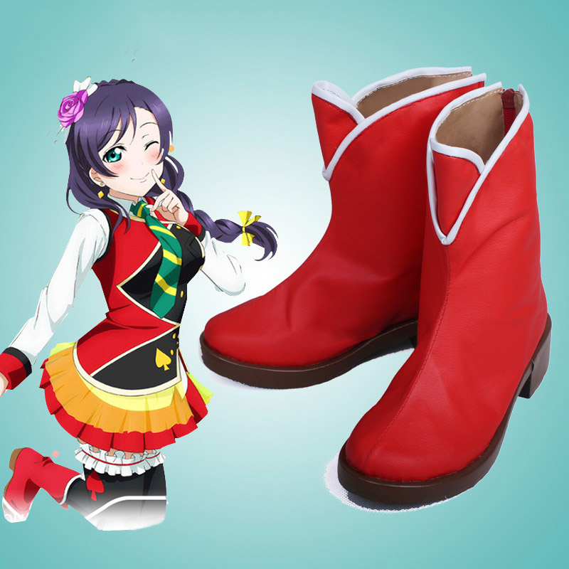 Love Live Maki Lovelive! Nozomi Tojo Cosplay obuv boty na zakázku - Kostýmy