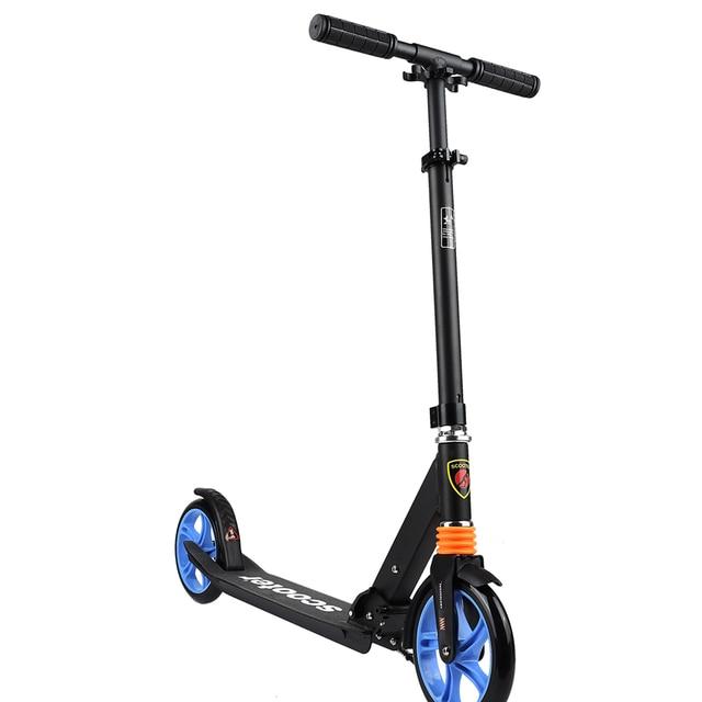 Игрушка детская Самокат 2-х колесный (черный)