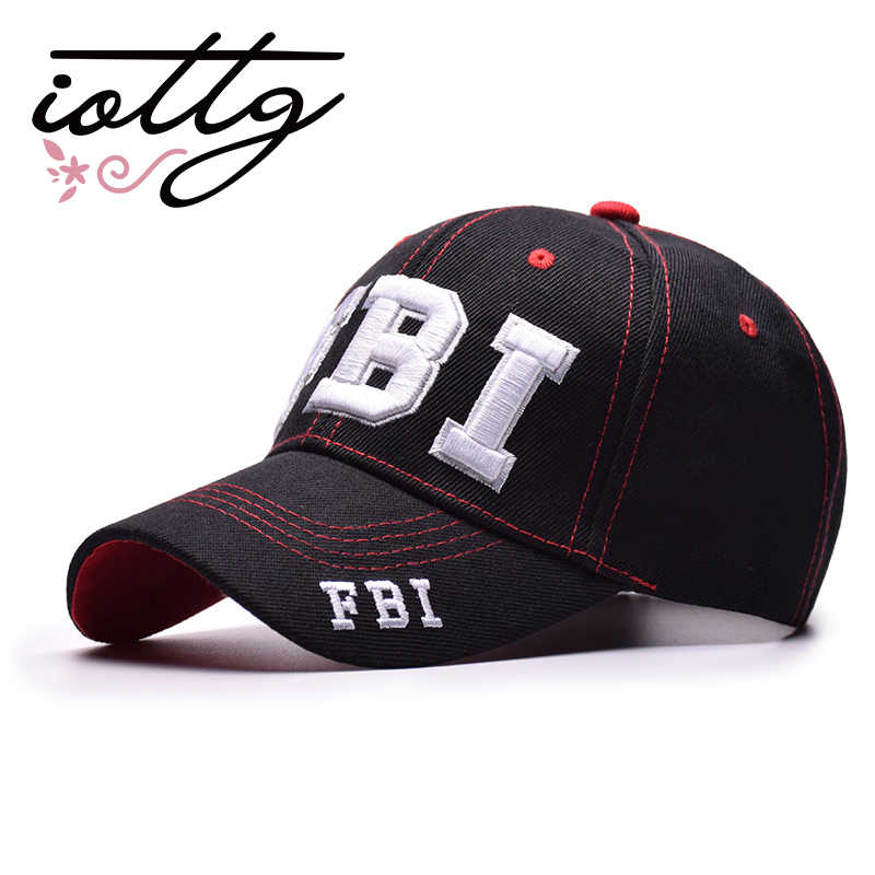 IOTTG 2018 New Arrival Baseball Caps FBI Letters Embroidered Snapback Cap  For Men Women Leisure Hip c05ad6b7f815
