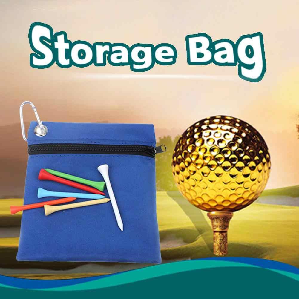 2018 Yeni 16*14 cm Naylon Fermuar Golf T-shirt Çanta Golf Aksesuarları Golf arabası Aksesuarları