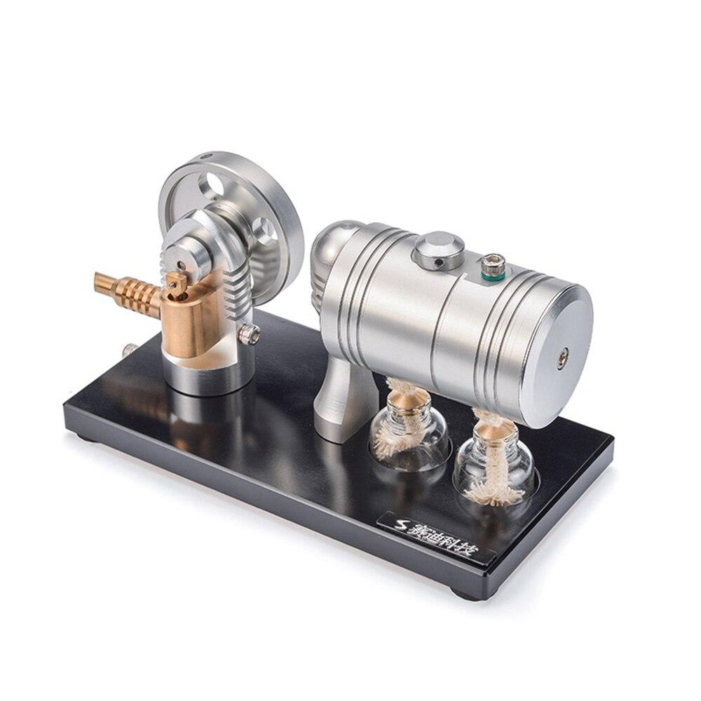 Mini moteur à vapeur Stirling modèle physique fournitures éducatives ressources pédagogiques