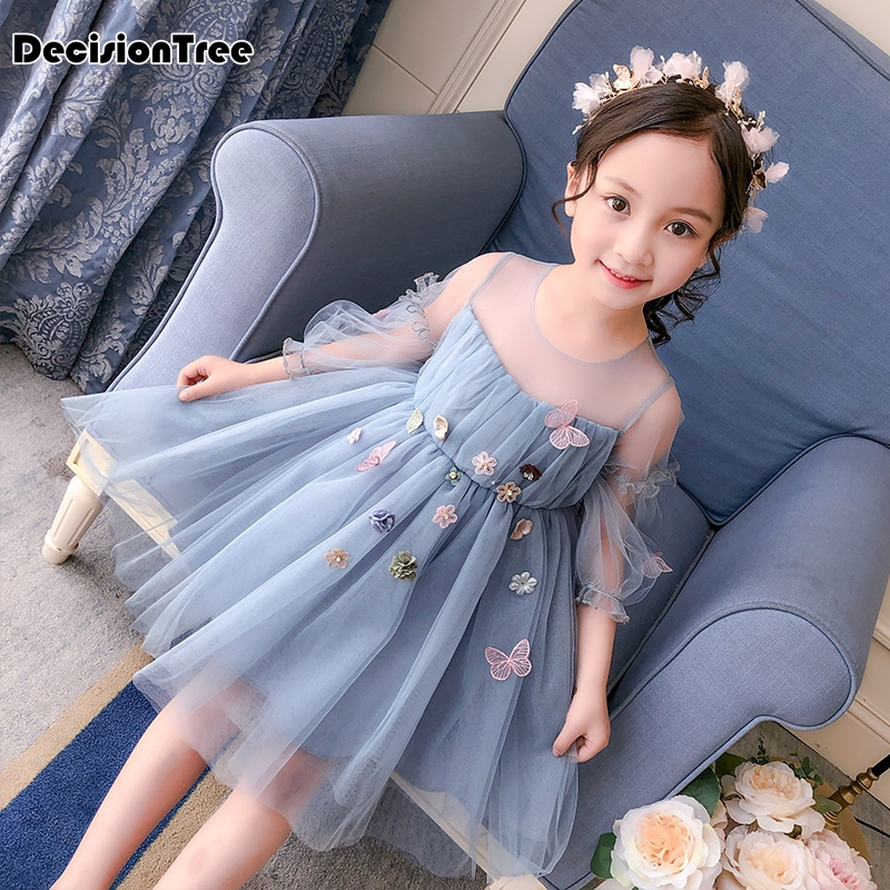 2019 new kids infant baby girls dresses casual cute sleeve denim princess pageant party casual tulle tutu dress girl2019 new kids infant baby girls dresses casual cute sleeve denim princess pageant party casual tulle tutu dress girl