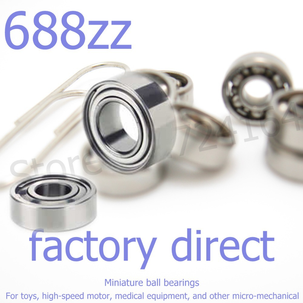 2 Bearing 4 x 8 x 3 Ceramic mm Metric Quality Bearings
