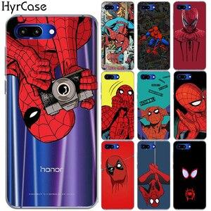 Мягкий чехол для Huawei Honor 9 10 Lite 8X 8C 7A Note 10 с забавным человеком-пауком, чехол для Huawei Y5 Y6 II Y3 Y7 2017 Y9 2018 NOVA 4 3 3I