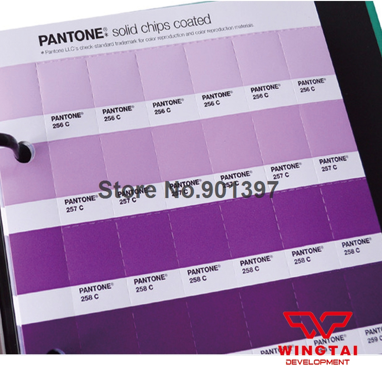 Aliexpress Buy New Usa Pantone Solid Chips Coated Uncoated