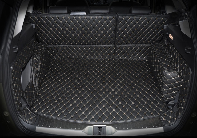 high quality special car trunk mats for ford escape 2018 2013 waterproof cargo liner boot. Black Bedroom Furniture Sets. Home Design Ideas