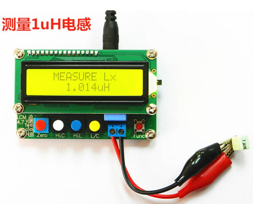NEW LC100-A Digital LCD High Precision Inductance Capacitance L/C Meter capacitor tester  цены