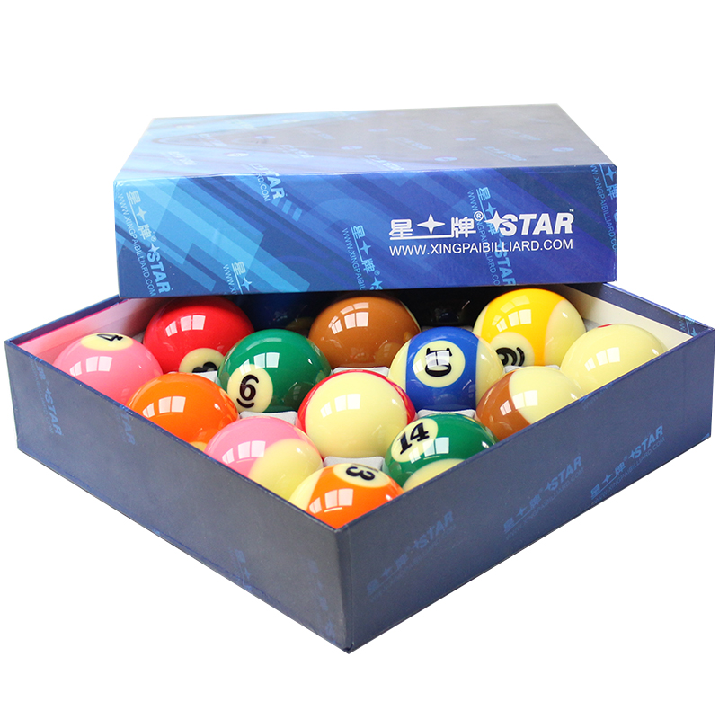 16 Pieces Tournament Billiards Balls Pool Ball Game American Resin Billiards Balls цены