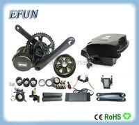 High Power 8Fun Bafang BBS02 36V 500W Mid Drive Motor Kits With 36V 10Ah Little Frog