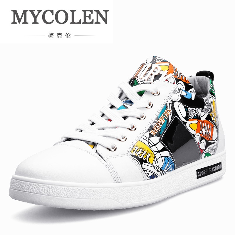 MYCOLEN 2018 New Luxury Designer Shoes Men Casual Shoes Fashion Men Shoes Top Quality Lightweight Sneakers Scarpe Uomo Di Marca женские кеды golden goose shoes 2015 ggdb uomo scarpe scollate